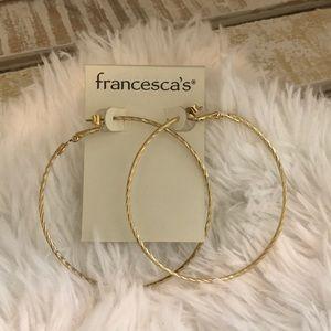 Francesca's Hoop Earrings
